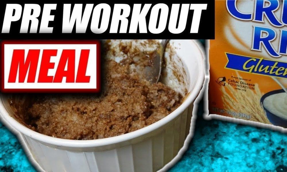 Cream Of Rice: Pre Workout Concoction Bowl Recipe
