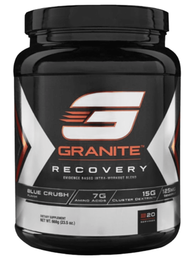 Granite Supplements recovery based intra workout blue crush