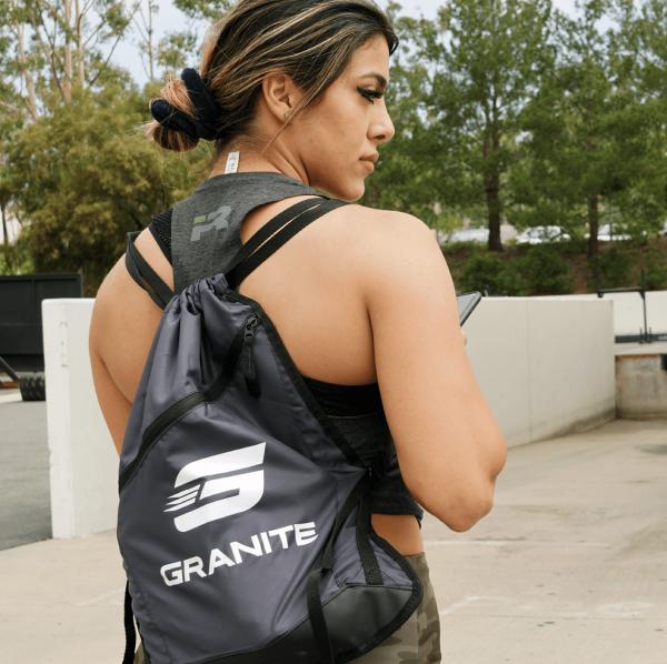 Granite Logo Cinch Bag