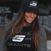 granite supplements black flat hat