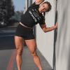 Granite supplements shirt black