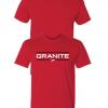 Granite supplements shirt red