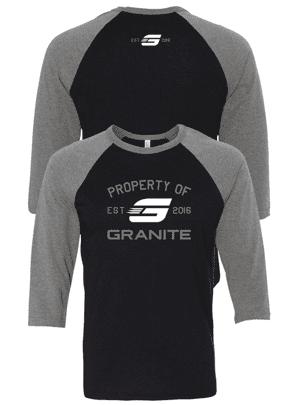 Property-Of-Granite-Raglan-LongSleeve-Gray-Black